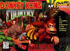 Donkey Kong Country for Super Nintendo Game