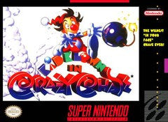 Kid Klown in Crazy Chase for Super Nintendo Game