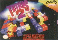 Tetris 2 for Super Nintendo Game