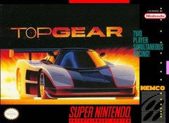 Top Gear for Super Nintendo Game