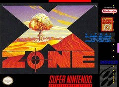 X-Zone for Super Nintendo Game
