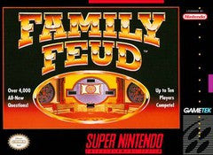 Family Feud for Super Nintendo Game
