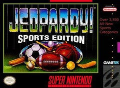 Jeopardy Sports Edition for Super Nintendo Game