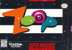 Zoop for Super Nintendo Game