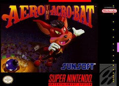 Aero the Acro-Bat for Super Nintendo Game