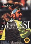 Andre Agassi Tennis for Sega Genesis Game