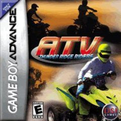 ATV Thunder Ridge Riders for GameBoy Advance Game