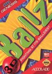 Ballz for Sega Genesis Game
