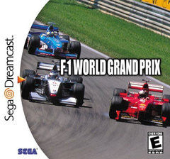 F-1 World Grand Prix for Sega Dreamcast Game