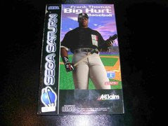 Frank Thomas Big Hurt Baseball for Sega Saturn Game