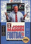 John Madden Football '93 for Sega Genesis Game