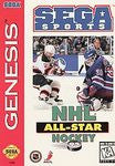 NHL All-Star Hockey 95 for Sega Genesis Game