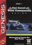 Nigel Mansell's World Championship Racing for Sega Genesis Game