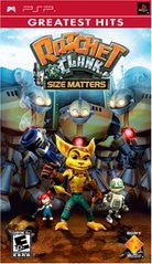 Ratchet and Clank Size Matters for PSP Game