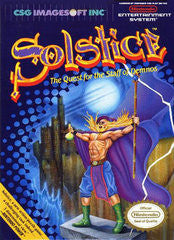 Solstice for NES Game