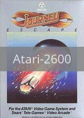 Image of Journey Escape original video game for Atari 2600 classic game system. Rocket City Arcade, Huntsville Al. We ship used video games Nationwide