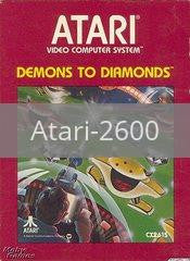 Image of Demons to Diamonds original video game for Atari 2600 classic game system. Rocket City Arcade, Huntsville Al. We ship used video games Nationwide