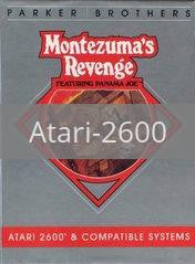 Image of Montezuma's Revenge Starring Panama Joe original video game for Atari 2600 classic game system. Rocket City Arcade, Huntsville Al. We ship used video games Nationwide