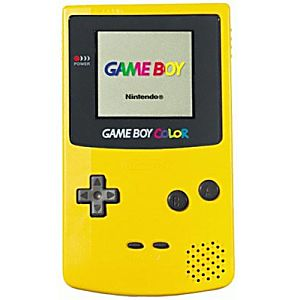 Yellow Game Boy Color