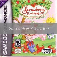 Image of Strawberry Shortcake Sumertime Adventure original video game for GameBoy Advance classic game system. Rocket City Arcade, Huntsville Al. We ship used video games Nationwide