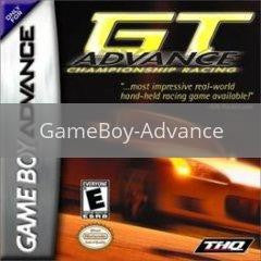 Image of GT Advance Championship Racing original video game for GameBoy Advance classic game system. Rocket City Arcade, Huntsville Al. We ship used video games Nationwide