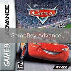 Image of Cars original video game for GameBoy Advance classic game system. Rocket City Arcade, Huntsville Al. We ship used video games Nationwide
