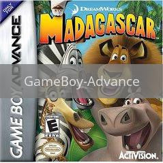 Image of Madagascar original video game for GameBoy Advance classic game system. Rocket City Arcade, Huntsville Al. We ship used video games Nationwide