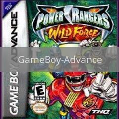 Image of Power Rangers Wild Force original video game for GameBoy Advance classic game system. Rocket City Arcade, Huntsville Al. We ship used video games Nationwide