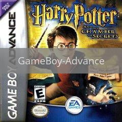 Image of Harry Potter Chamber of Secrets original video game for GameBoy Advance classic game system. Rocket City Arcade, Huntsville Al. We ship used video games Nationwide