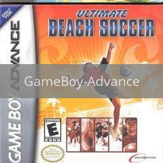 Image of Ultimate Beach Soccer original video game for GameBoy Advance classic game system. Rocket City Arcade, Huntsville Al. We ship used video games Nationwide