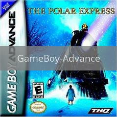 Image of The Polar Express original video game for GameBoy Advance classic game system. Rocket City Arcade, Huntsville Al. We ship used video games Nationwide