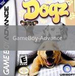 Image of Dogz original video game for GameBoy Advance classic game system. Rocket City Arcade, Huntsville Al. We ship used video games Nationwide