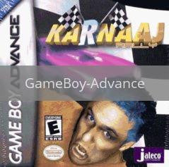 Image of Karnaaj Rally original video game for GameBoy Advance classic game system. Rocket City Arcade, Huntsville Al. We ship used video games Nationwide