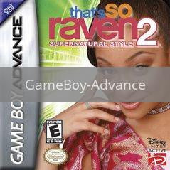 Image of That's So Raven 2 Supernatural Style original video game for GameBoy Advance classic game system. Rocket City Arcade, Huntsville Al. We ship used video games Nationwide