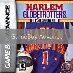 Image of Harlem Globetrotters World Tour original video game for GameBoy Advance classic game system. Rocket City Arcade, Huntsville Al. We ship used video games Nationwide
