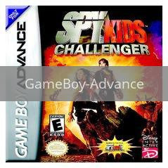 Image of Spy Kids Challenger original video game for GameBoy Advance classic game system. Rocket City Arcade, Huntsville Al. We ship used video games Nationwide