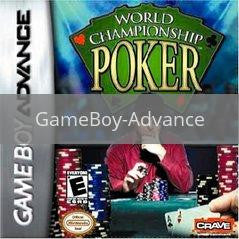 Image of World Championship Poker original video game for GameBoy Advance classic game system. Rocket City Arcade, Huntsville Al. We ship used video games Nationwide