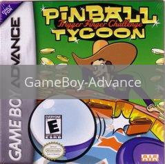 Image of Pinball Tycoon original video game for GameBoy Advance classic game system. Rocket City Arcade, Huntsville Al. We ship used video games Nationwide