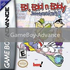 Image of Ed Edd N Eddy Jawbreakers original video game for GameBoy Advance classic game system. Rocket City Arcade, Huntsville Al. We ship used video games Nationwide