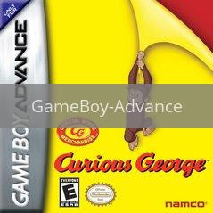 Image of Curious George original video game for GameBoy Advance classic game system. Rocket City Arcade, Huntsville Al. We ship used video games Nationwide