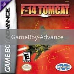 Image of F-14 Tomcat original video game for GameBoy Advance classic game system. Rocket City Arcade, Huntsville Al. We ship used video games Nationwide