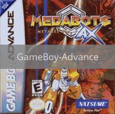 Image of Medabots AX: Metabee Version original video game for GameBoy Advance classic game system. Rocket City Arcade, Huntsville Al. We ship used video games Nationwide