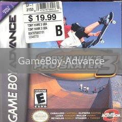 Image of Tony Hawk 3 original video game for GameBoy Advance classic game system. Rocket City Arcade, Huntsville Al. We ship used video games Nationwide