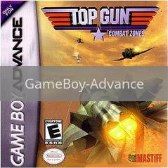 Image of Top Gun Combat Zone original video game for GameBoy Advance classic game system. Rocket City Arcade, Huntsville Al. We ship used video games Nationwide