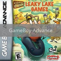 Image of Camp Lazlo Leaky Lake Games original video game for GameBoy Advance classic game system. Rocket City Arcade, Huntsville Al. We ship used video games Nationwide