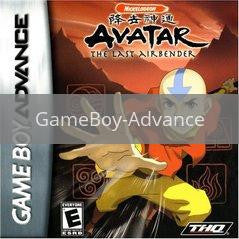 Image of Avatar the Last Airbender original video game for GameBoy Advance classic game system. Rocket City Arcade, Huntsville Al. We ship used video games Nationwide