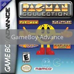 Image of Pac-Man Collection original video game for GameBoy Advance classic game system. Rocket City Arcade, Huntsville Al. We ship used video games Nationwide