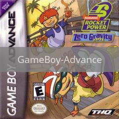 Image of Rocket Power Zero Gravity Zone original video game for GameBoy Advance classic game system. Rocket City Arcade, Huntsville Al. We ship used video games Nationwide