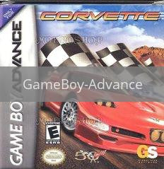 Image of Corvette original video game for GameBoy Advance classic game system. Rocket City Arcade, Huntsville Al. We ship used video games Nationwide