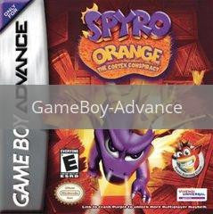 Image of Spyro Orange The Cortex Conspiracy original video game for GameBoy Advance classic game system. Rocket City Arcade, Huntsville Al. We ship used video games Nationwide